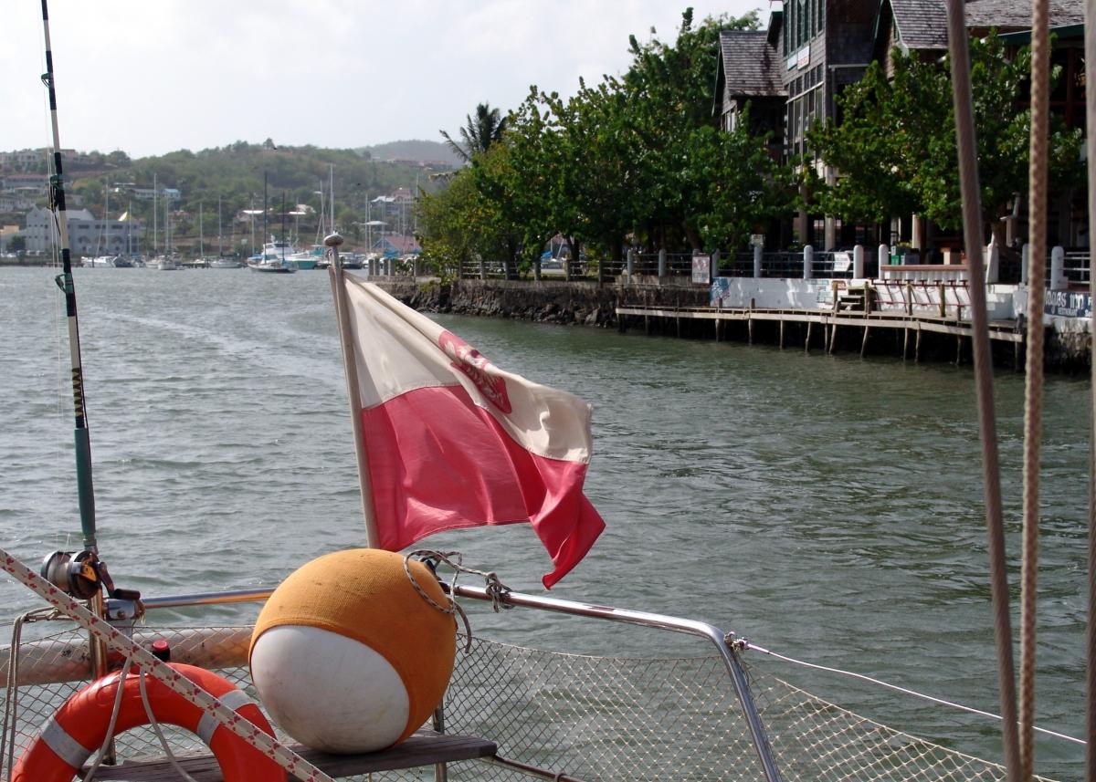017) Opuszczamy St. Lucia
