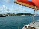 010) Kotwiczymy w Le Marin