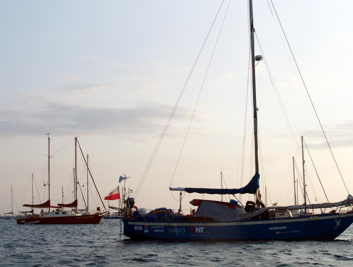 010) Przypływa do Panamy s/y STARY