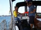 001) Na Jachcie Pierre'a i Luizy przepływam po raz trzeci Kanał Panamski