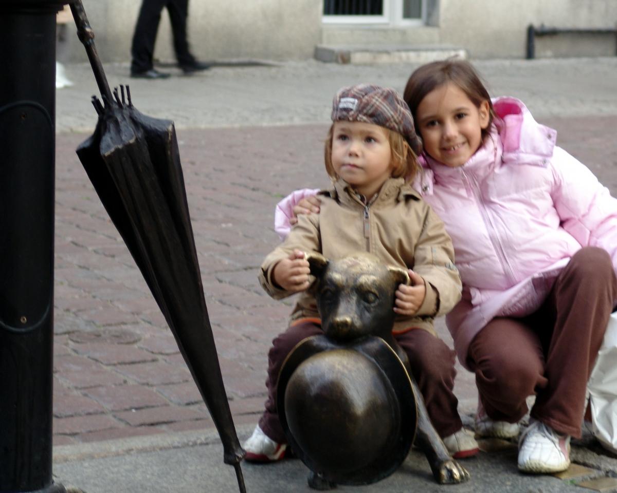 023) Ławeczka na rozmiar Dziecka. Toruń