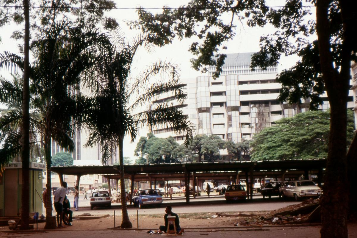 Plato - centrum Abidjanu
