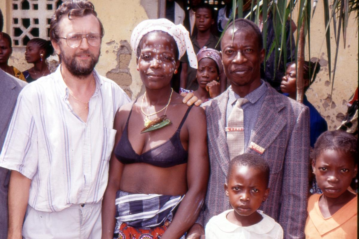 Misjonarz dumny ze swoich wiernych