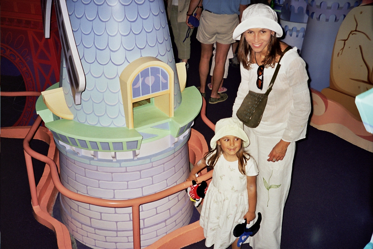 W Disneylandzie