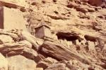 Domy, spichlerze i grobowce Dogonów