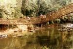 Most z lian w okolicy Man
