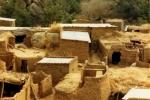 Budynki z glinianych cegieł suszonych na Słońcu