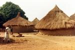 Popołudniowy spokój na sahelskiej wiosce