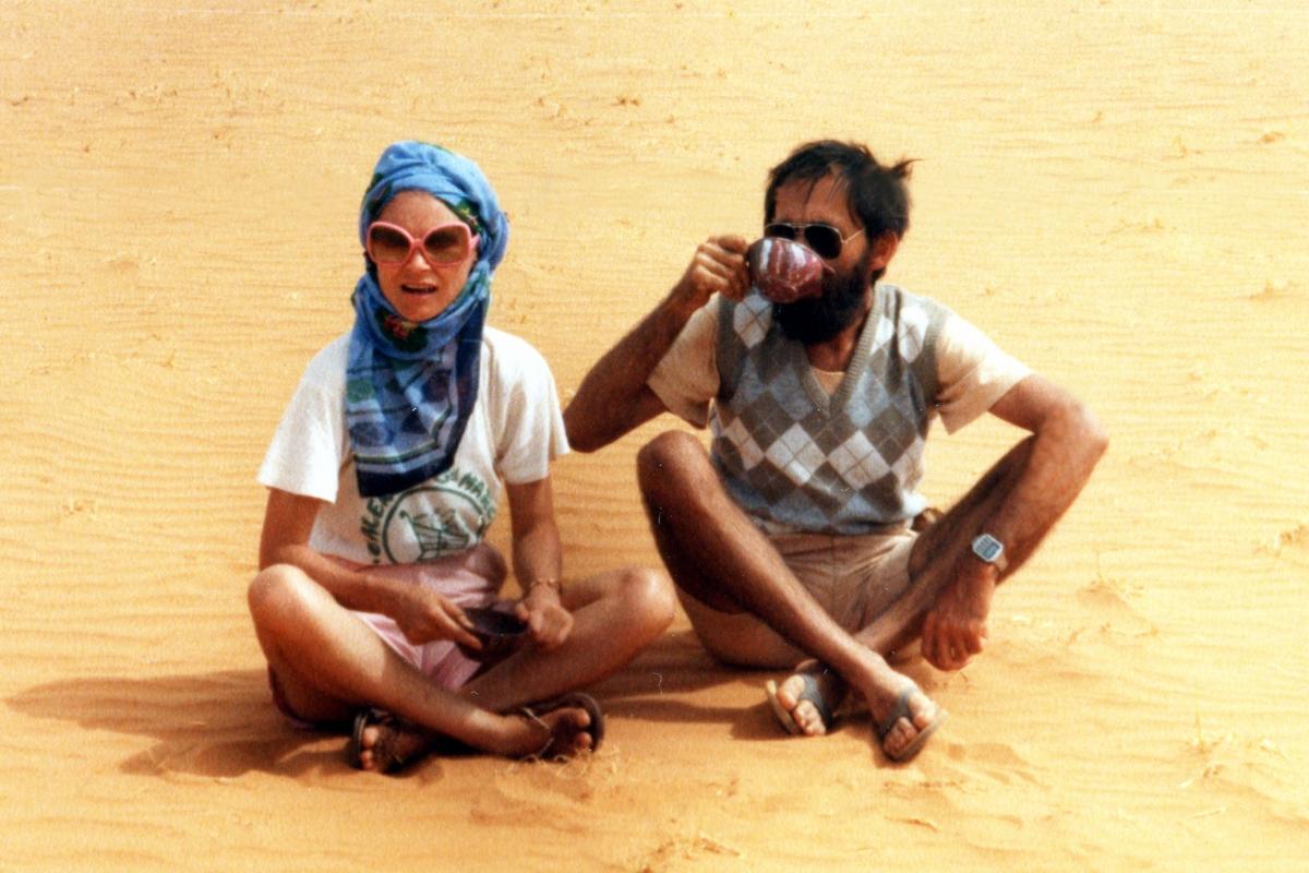 Nad Bałtykiem udają Tuaregów!