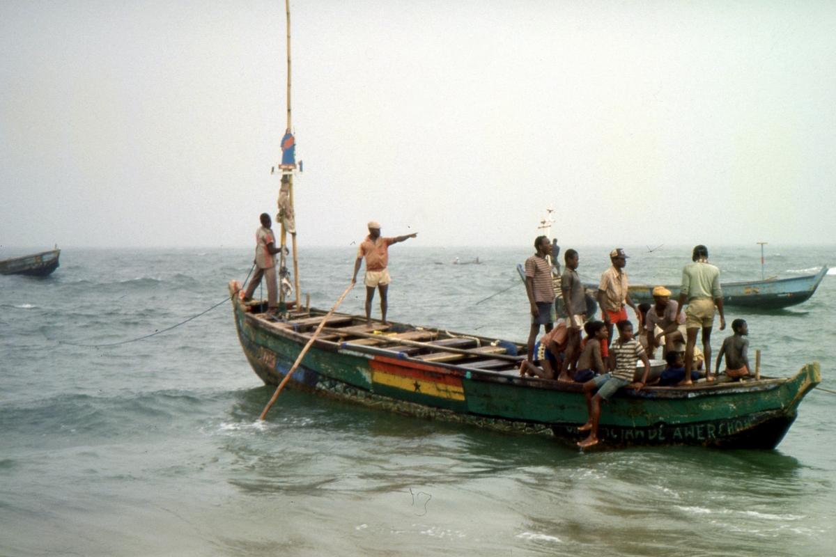 Ghańscy rybacy