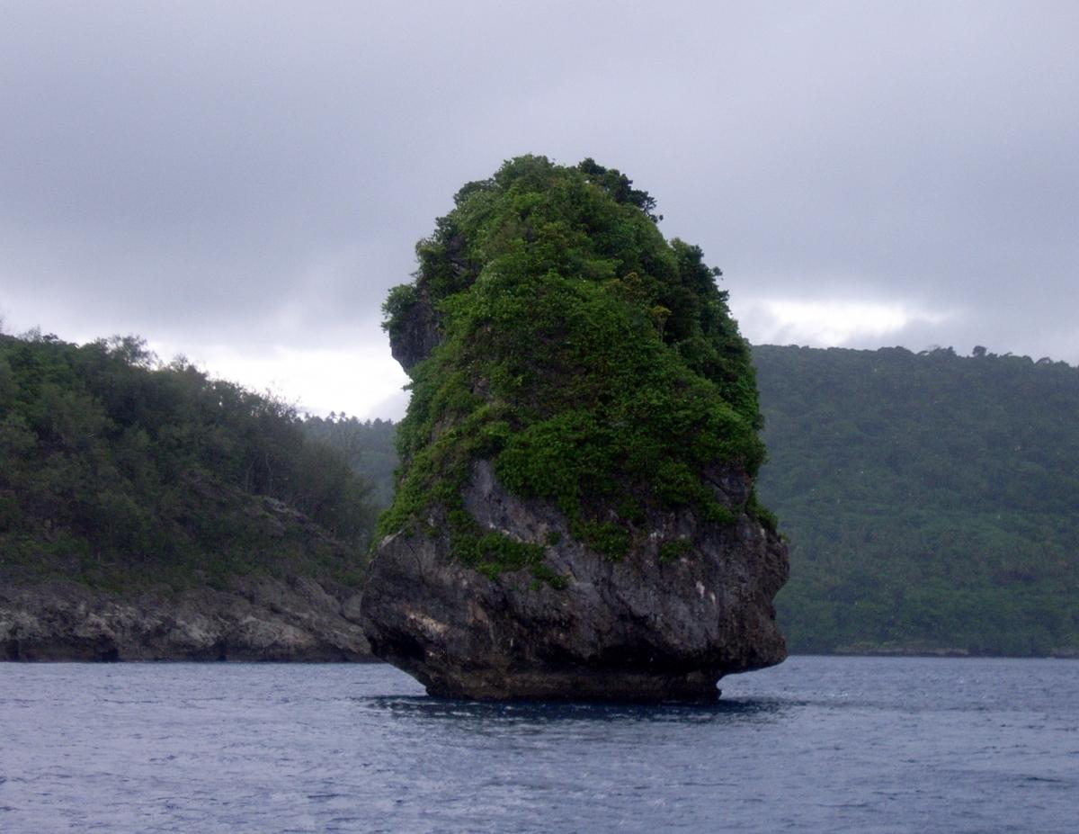 004) Oryginalne formacje skalne