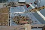 Naprawa trampolin między dziobami