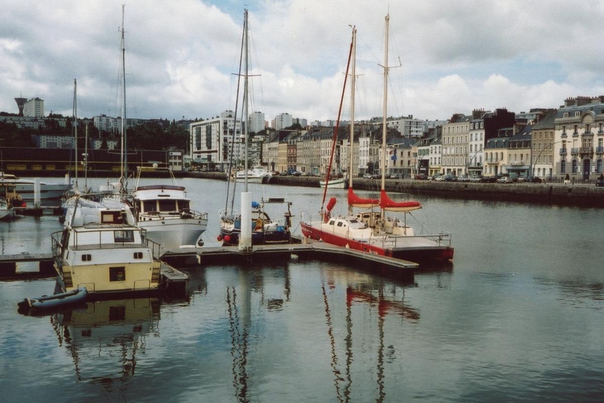 W centrum Cherbourga