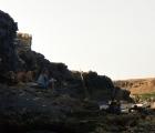 Odpoczynek w cieniu dobrej skały